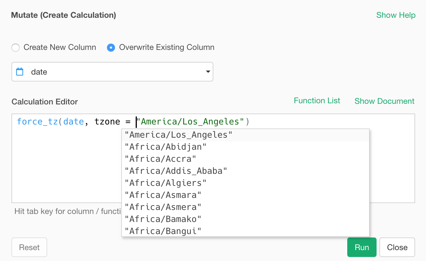 An Introduction to Timezone Support in Exploratory